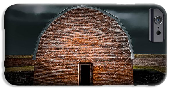 Michelle iPhone Cases - Fort McHenry 4 iPhone Case by Michelle Saraswati