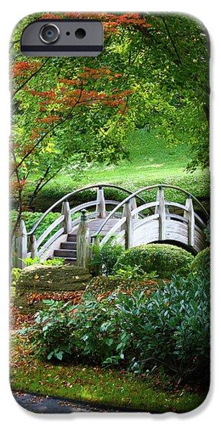 Fort Worth Botanic Garden iPhone Case by Joan Carroll