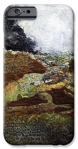 Earth Tone iPhone Cases - Eruption iPhone Case by Barb Pearson