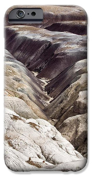 Petrified Forest Arizona iPhone Cases - Four Million Geologic Years iPhone Case by Melany Sarafis