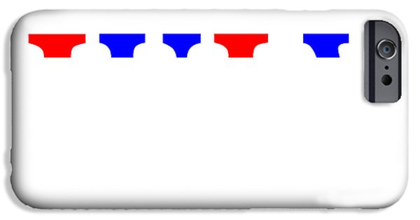 Fourth Of July iPhone Cases - Fourth of July iPhone Case by George Wachob