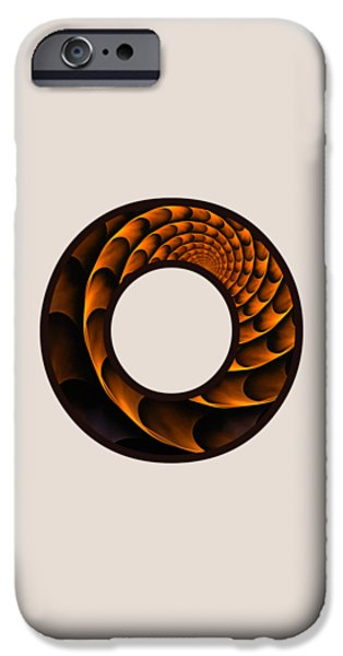 Diy iPhone Cases - Fractal - Alphabet - O is for Out of Reach iPhone Case by Anastasiya Malakhova