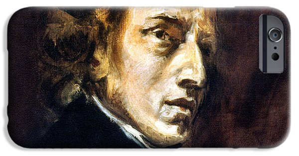 Delacroix iPhone Cases - Frederic Chopin iPhone Case by Granger