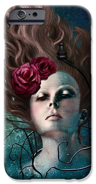 Fear iPhone Cases - Free iPhone Case by April Moen