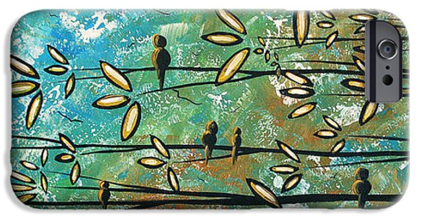Rust iPhone Cases - Free as a Bird by MADART iPhone Case by Megan Duncanson