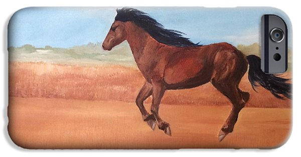 The Horse iPhone Cases - Free iPhone Case by Ellen Canfield