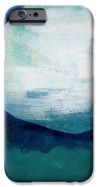 Sea Mixed Media iPhone Cases - Free My Soul iPhone Case by Linda Woods