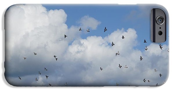 Flight iPhone Cases - Freedom iPhone Case by B Vesseur