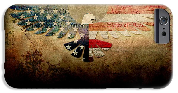 Patriots iPhone Cases - Libertas Nostra Veritas. iPhone Case by WD Senamontri