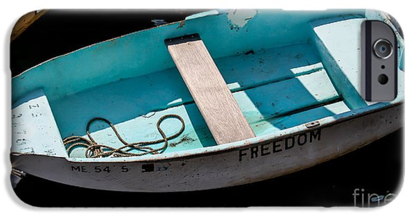 Maine iPhone Cases - Freedom in Maine iPhone Case by Joe Far Photos