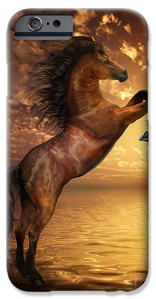 Freedom Digital iPhone Cases - Freedom iPhone Case by Shanina Conway