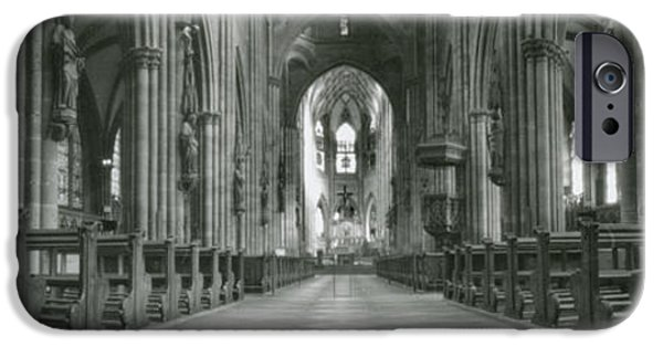 Best Sellers -  - Loose Style Photographs iPhone Cases - Freiburg Cathedral  iPhone Case by Marcio Faustino
