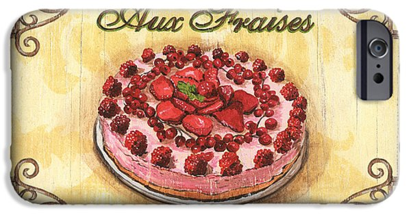 Organic iPhone Cases - French Pastry 1 iPhone Case by Debbie DeWitt