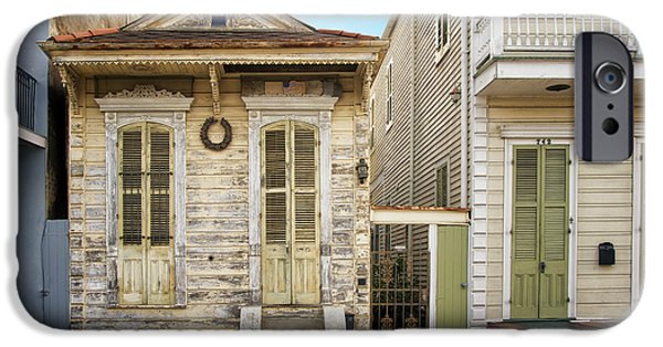 House iPhone Cases - French Quarter Housing iPhone Case by Steven  Michael