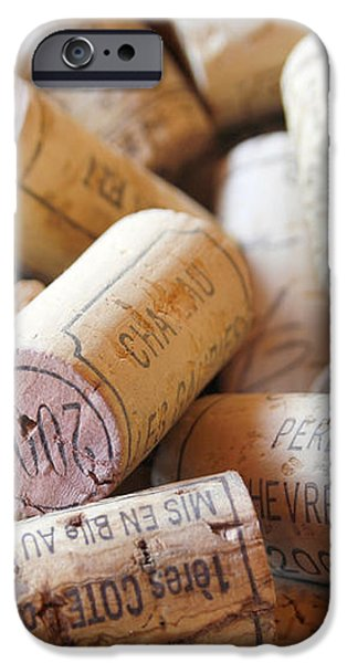 French Wine Corks iPhone Case by Nomad Art And  Design