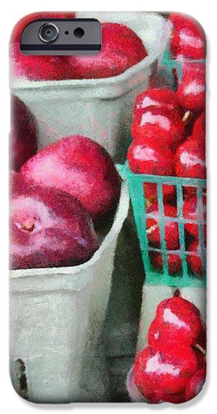 Fresh Market Fruit iPhone Case by Jeff Kolker
