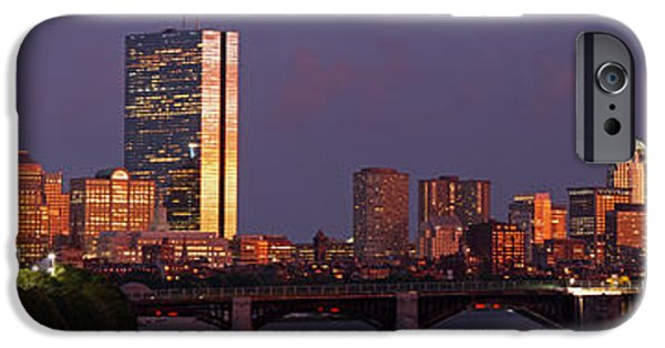 Charles River iPhone Cases - Friday Night Lights iPhone Case by Juergen Roth