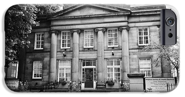 Friends Meeting iPhone Cases - friends meeting house Manchester uk iPhone Case by Joe Fox
