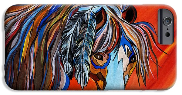 United iPhone Cases - Frisco War Horse iPhone Case by Janice Rae Pariza