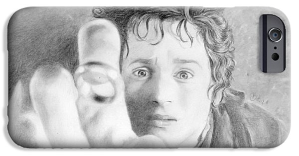 Bitten Kari iPhone Cases - Frodo from the Shire iPhone Case by Bitten Kari
