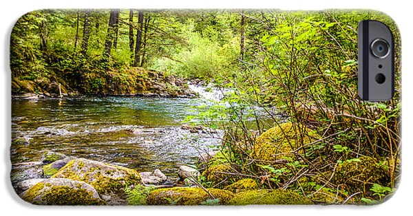 River View iPhone Cases - From the riverbank iPhone Case by Kevin Haralson