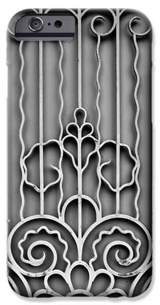 Chip iPhone Cases - Front Door Detail iPhone Case by Colleen Kammerer