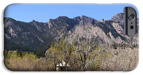 Front Range iPhone Cases - Front Range Panorama iPhone Case by Marilyn Hunt