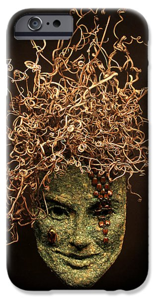 Human Figure Reliefs iPhone Cases - Frou-Frou iPhone Case by Adam Long