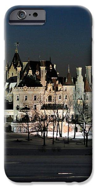 Frozen Boldt Castle iPhone Case by Lori Deiter