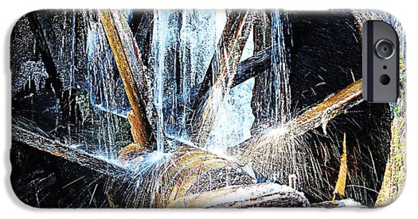 Grist Mill iPhone Cases - Frozen - John P. Cable Grist Mill iPhone Case by Roe Rader