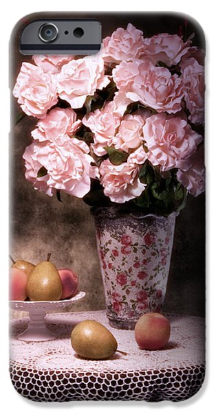 Buy iPhone Cases - Fruit With Flowers Still Life iPhone Case by Tom Mc Nemar