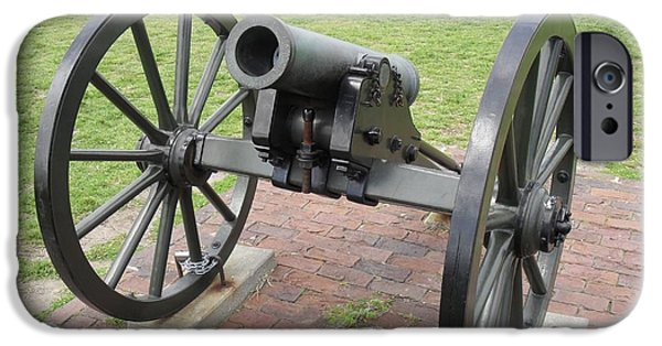 Weapon iPhone Cases - Ft. Sumpter Cannon iPhone Case by G Johnson
