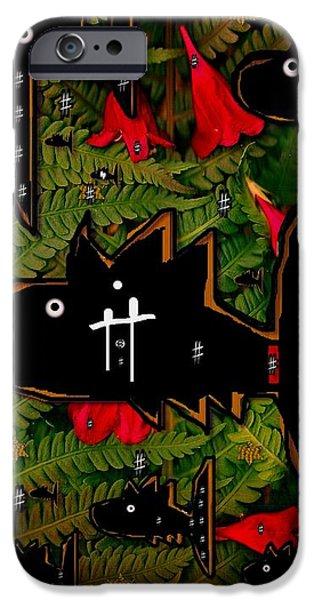 fugi sashi in the deep sea of japan iPhone Case by Pepita Selles