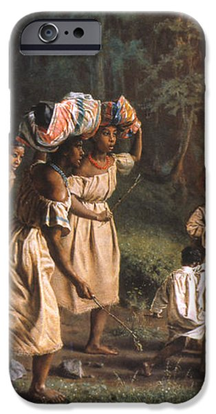 FUGITIVE SLAVES, 1867 iPhone Case by Granger