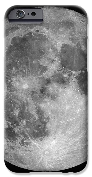 Full Moon iPhone Case by Roth Ritter