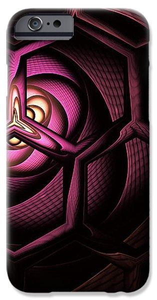 Fullerene iPhone Case by John Edwards
