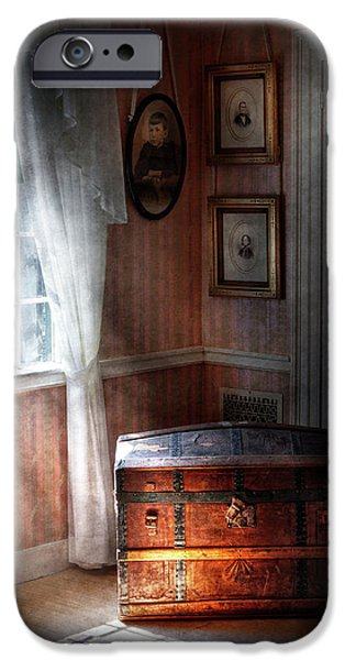 Furniture - Bedroom - Family Secrets iPhone Case by Mike Savad