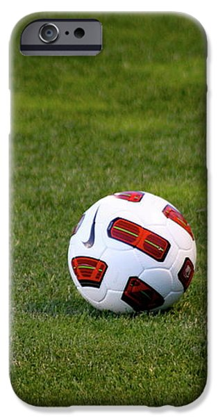 Futbol iPhone Case by Laddie Halupa