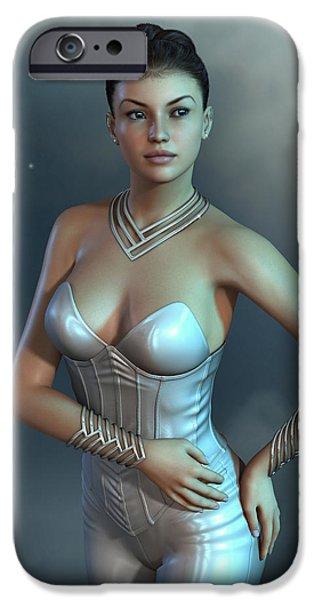 Virtual iPhone Cases - Futuristic fashion style iPhone Case by Fabiana Kofman