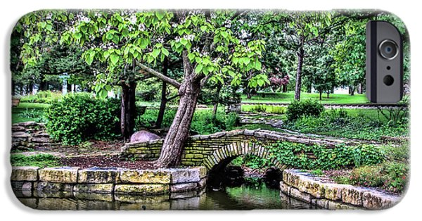 Pathway iPhone Cases - Gage Park iPhone Case by Elizabeth Winter