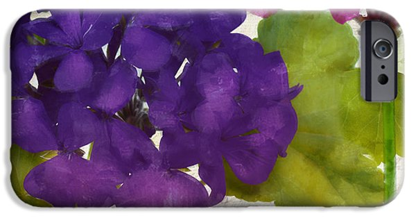 Fuschia iPhone Cases - Gaia I iPhone Case by Mindy Sommers