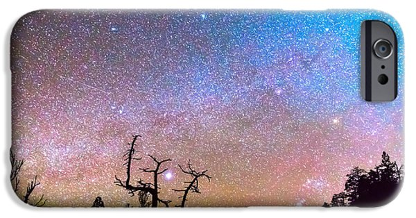 Stellar iPhone Cases - Galaxy Night iPhone Case by James BO  Insogna