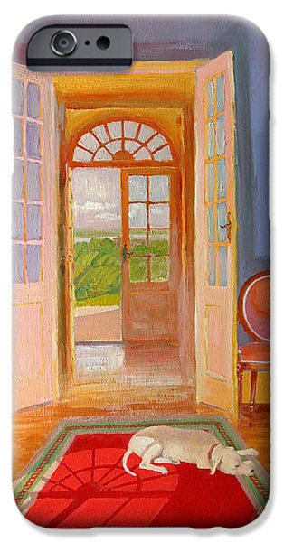 French Doors iPhone Cases - Galonne iPhone Case by William Ireland