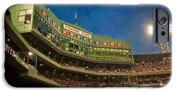 Fenway Park iPhone Cases - Game Night Fenway Park - Boston iPhone Case by Joann Vitali