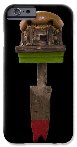 Weapon Sculptures iPhone Cases - Gamers Weapons iPhone Case by Hadar Azaria