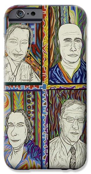 Gang of Four iPhone Case by Robert  SORENSEN