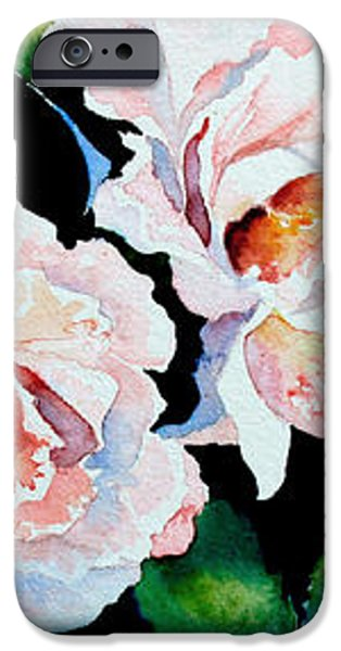 Garden Roses iPhone Case by Hanne Lore Koehler