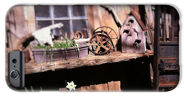 Recently Sold -  - Shed iPhone Cases - Garden Shed iPhone Case by Flo DiBona