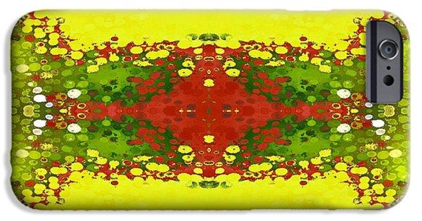 Garden Tapestries - Textiles iPhone Cases - Garden Walk iPhone Case by Suzi Freeman