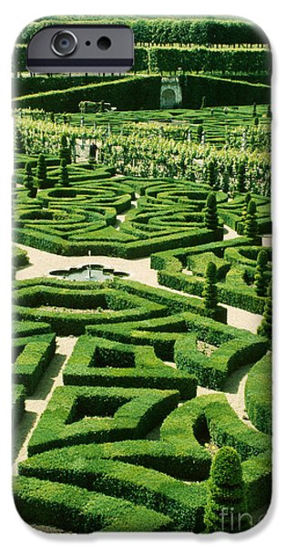 Mathematical Design iPhone Cases - Gardens Of Versailles iPhone Case by Ronny Jaques